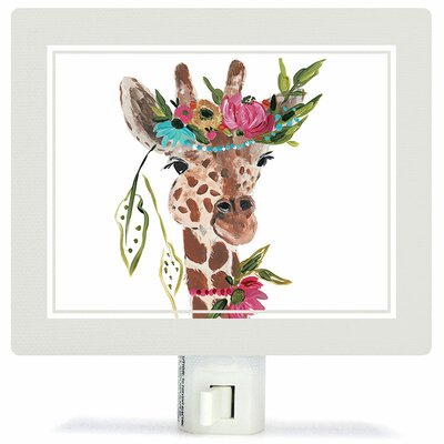 Boho Giraffe Night Light