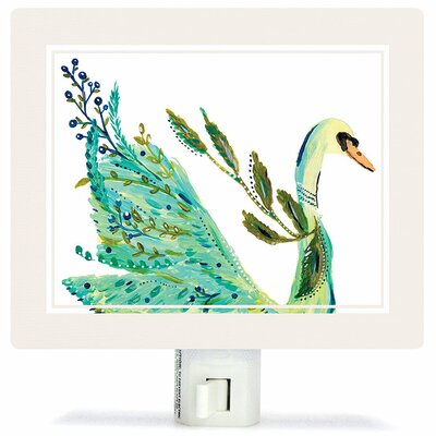Boho Swan Night Light