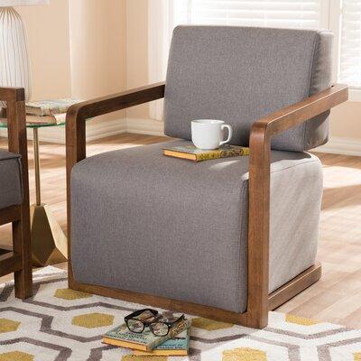 Fender Armchair Upholstery: Gray