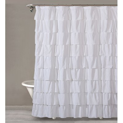 Keeter Ruffle Shower Curtain