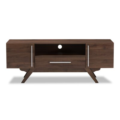 Plaisance Mid-Century Modern Wood 59 TV Stand