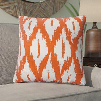 Maribel Throw Pillow Color: Orange