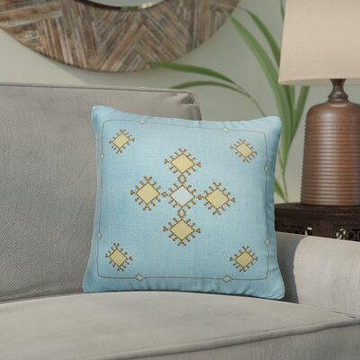 El Cerrito Indoor/Outdoor Throw Pillow Size: 18