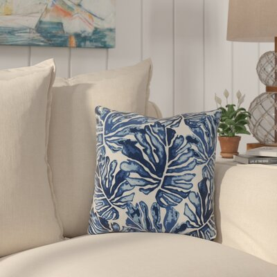 Thirlby Throw Pillow Size: 20 H x 20 W x 3 D, Color: Blue