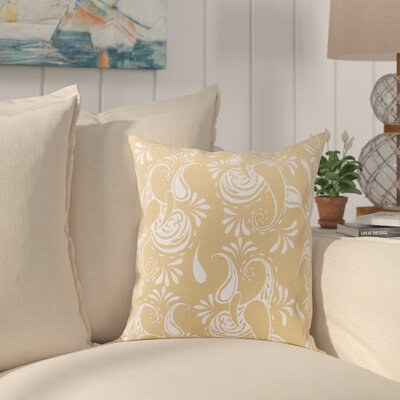 Sergios Cotton Pillow Cover Color: Latte