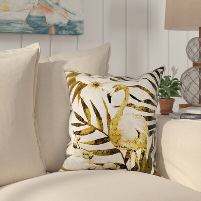 Elodia Square Outdoor Throw Pillow Size: 18 x 18
