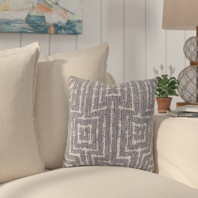 Thirlby Outdoor Throw Pillow Size: 18 H x 18 W x 3 D, Color: Purple