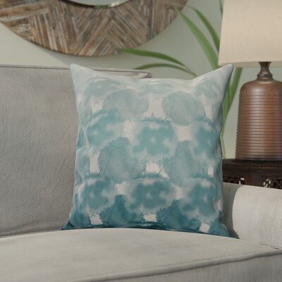 Viet Geometric Print Throw Pillow Size: 16 H x 16 W, Color: Teal