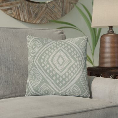Hieu Throw Pillow Size: 16 H x 16 W x 3 D, Color: Soft Green