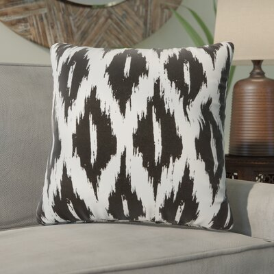 Maribel Throw Pillow Color: Black