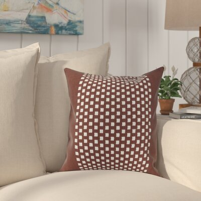 Sergios Cotton Pillow Cover Color: Chocolate
