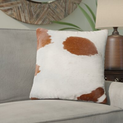 Graham Cowhide Throw Pillow