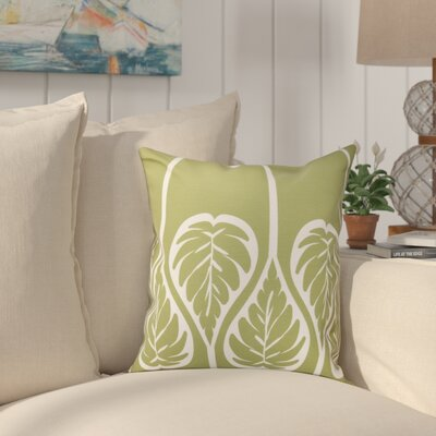 Hilde Outdoor Throw Pillow Size: 18 H x 18 W, Color: Green
