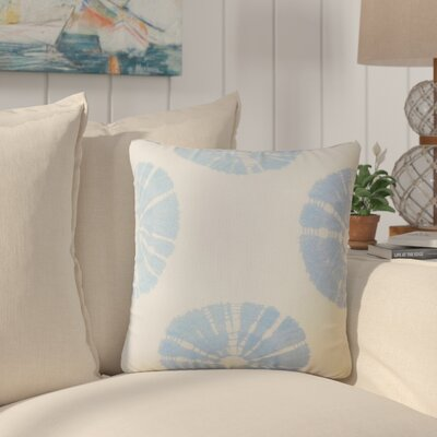 LaTeisha Geometric Down Filled Throw Pillow Size: 18 x 18, Color: Sky Blue