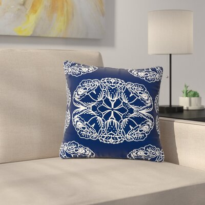 Jennifer Rizzo Williams Flowers Outdoor Throw Pillow Size: 16 H x 16 W x 5 D