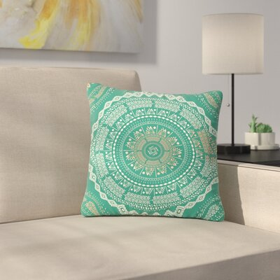 Famenxt Medallion Pattern Outdoor Throw Pillow Size: 16 H x 16 W x 5 D
