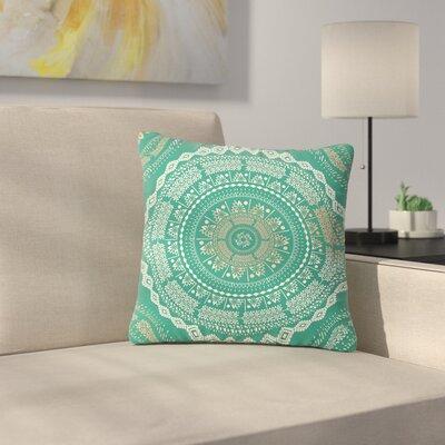 Famenxt Medallion Pattern Outdoor Throw Pillow Size: 18 H x 18 W x 5 D