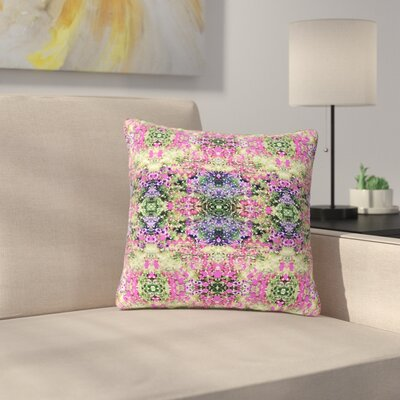 Carolyn Greifeld Cascade Reflections Abstract Outdoor Throw Pillow Size: 18 H x 18 W x 5 D