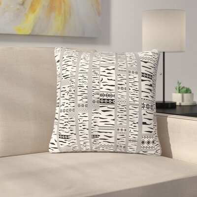 Marta Olga Klara Birch Forest Outdoor Throw Pillow Size: 16 H x 16 W x 5 D