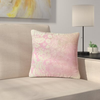 Cafelab Spring Damask Outdoor Throw Pillow Size: 16 H x 16 W x 5 D