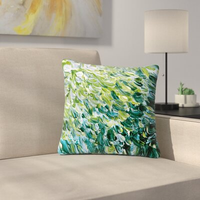 Ebi Emporium Frosted Feathers 3 Outdoor Throw Pillow Size: 18 H x 18 W x 5 D
