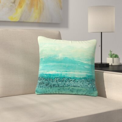 Iris Lehnhardt Oceanic Outdoor Throw Pillow Size: 16 H x 16 W x 5 D