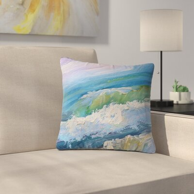 Carol Schiff the Sea Outdoor Throw Pillow Size: 18 H x 18 W x 5 D