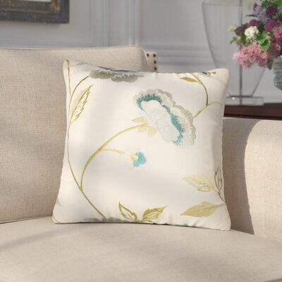Lin Cotton Throw Pillow Color: Oyster
