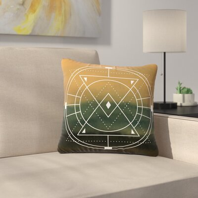 Matt Eklund Lost City Geometric Outdoor Throw Pillow Size: 18 H x 18 W x 5 D