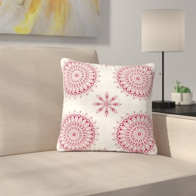 Julia Grifol Geometric Mandalas Outdoor Throw Pillow Size: 16 H x 16 W x 5 D