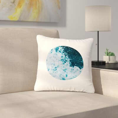 The Sea Nautical Outdoor Throw Pillow Size: 16 H x 16 W x 5 D