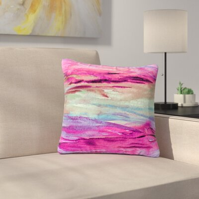 Ebi Emporium Unanchored 4 Lavender Outdoor Throw Pillow Size: 16 H x 16 W x 5 D