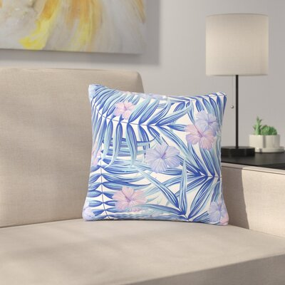 Marta Olga Klara Hawaiian Pattern Outdoor Throw Pillow Size: 18 H x 18 W x 5 D