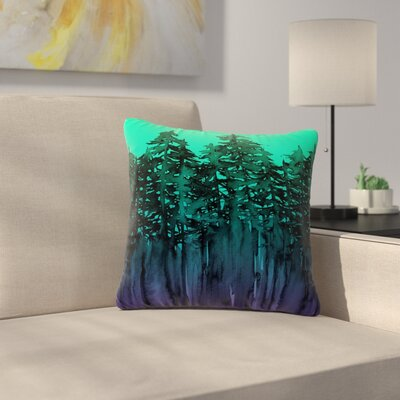 Ebi Emporium Forest Through the Trees 9 Outdoor Throw Pillow Size: 18 H x 18 W x 5 D