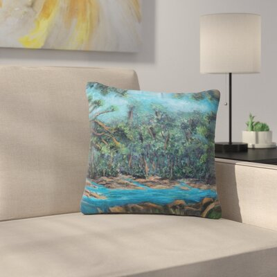 Cyndi Steen Dont Cut Me Down Nature Outdoor Throw Pillow Size: 16 H x 16 W x 5 D