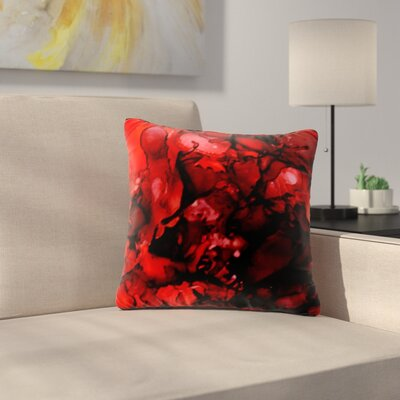 Claire Day Outdoor Throw Pillow Size: 16 H x 16 W x 5 D