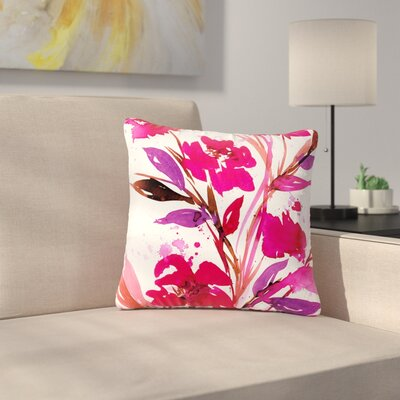 Ebi Emporium Pocket Full of Posies 11 Nature Outdoor Throw Pillow Size: 18 H x 18 W x 5 D
