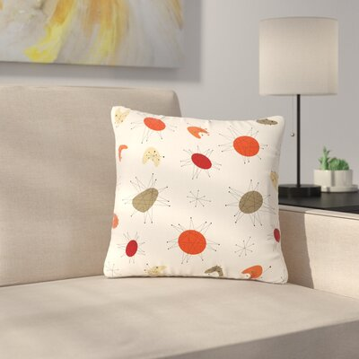 Retro Party Outdoor Throw Pillow Size: 16 H x 16 W x 5 D