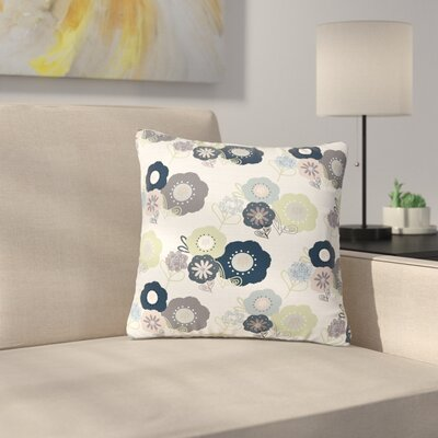 Jolene Heckman Floral Bunches Outdoor Throw Pillow Size: 16