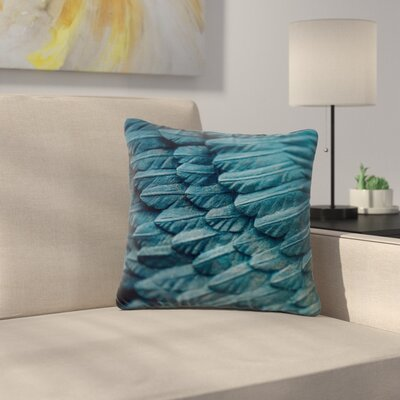 Ann Barnes Ombre Angel Celestial Outdoor Throw Pillow Size: 18 H x 18 W x 5 D