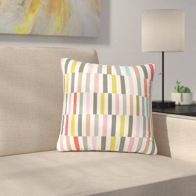 Fimbis Rocolu Outdoor Throw Pillow Size: 18 H x 18 W x 5 D