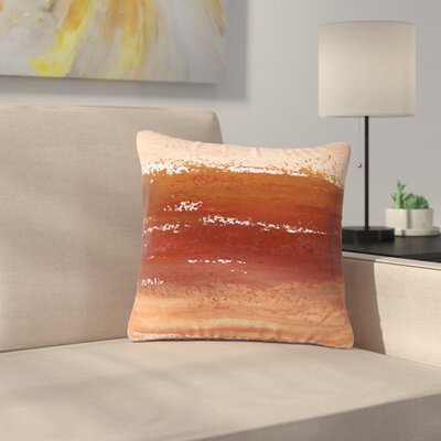 Iris Lehnhardt Cinnamon Chai Painting Outdoor Throw Pillow Size: 16 H x 16 W x 5 D