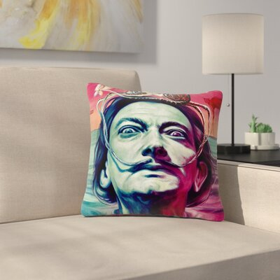 Jared Yamahata Babou Illustration Outdoor Throw Pillow Size: 16 H x 16 W x 5 D