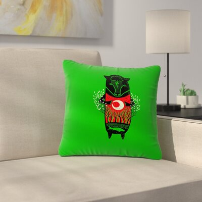 BarmalisiRTB There is Life Animals Outdoor Throw Pillow Size: 16 H x 16 W x 5 D