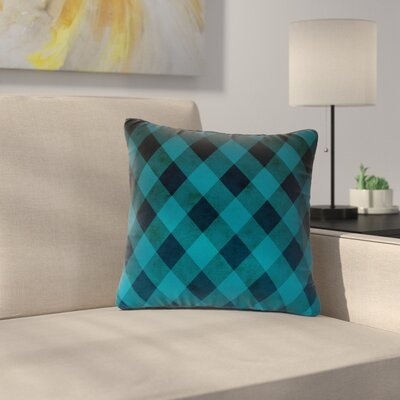 Matt Eklund Deep Current Pattern Outdoor Throw Pillow Size: 18 H x 18 W x 5 D