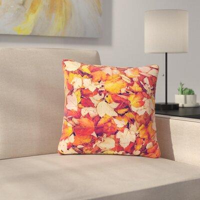 Debbra Obertanec Scarlet Crimson Outdoor Throw Pillow Size: 16 H x 16 W x 5 D