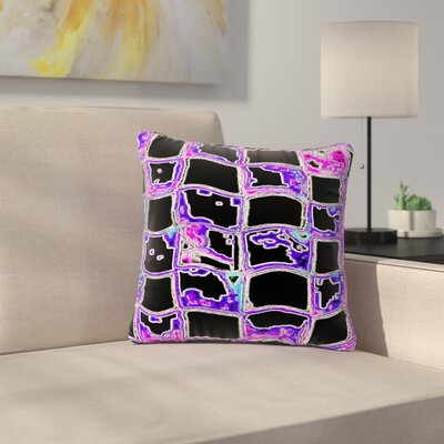 Anne LaBrie the Matrix Digital Outdoor Throw Pillow Size: 18 H x 18 W x 5 D