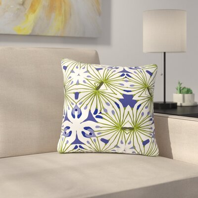 Laura Nicholson Thalia Floral Outdoor Throw Pillow Size: 16 H x 16 W x 5 D
