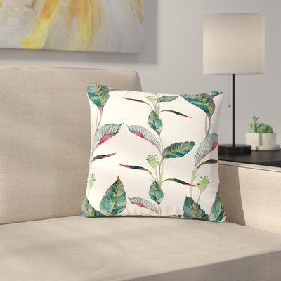 DLKG Design Ana Olive Outdoor Throw Pillow Size: 18 H x 18 W x 5 D
