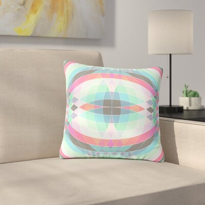 Fimbis Jazar Abstract Geometric Outdoor Throw Pillow Size: 16 H x 16 W x 5 D